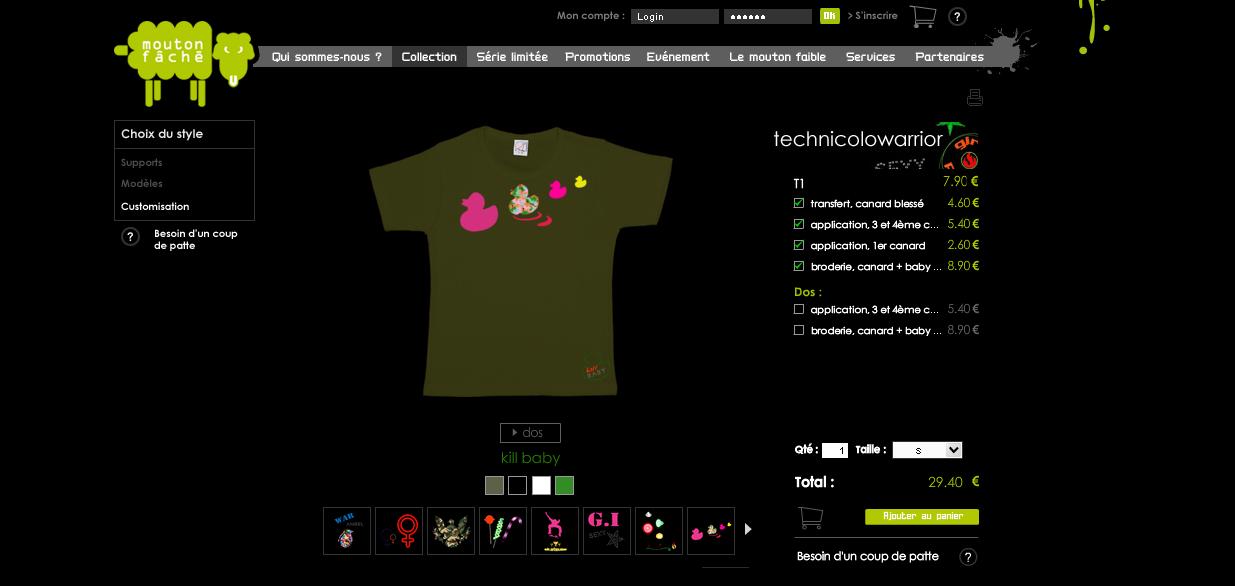 nouveau tee shirt